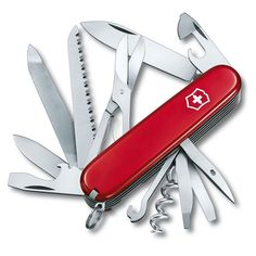 Inspirational Tuesday - Swiss Army Knife  How many times do we need a tool that is not there? The ingenious multi-tool from Victorinox AG best known as the Swiss Army Knife translates the idea of the pocket knife to something really useful as it comes with a retractable blade screwdriver can opener even a pair of scissors. These attachments are stowed inside the handle of the knife through a pivot point mechanism.  Originally designed for the army in 1890 its clever design build quality and…