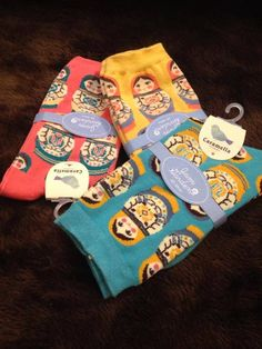 Russian dolls socks