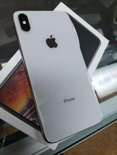 Apple iPhone XS Max - 512GB - Silver (Unlocked) A1921 (CDMA  GSM) - Iphone XS #iphonexs