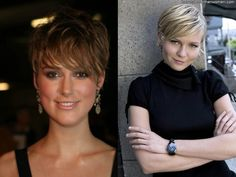 short hairstyles for round faces and thin hair 2011