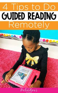 Mar 2020 - Learn how to easily teach guided reading remotely to continue to move students forward in reading through intentional instruction. Guided Reading Binder, Guided Reading Lessons, Reading Skills, Reading Groups, Kindergarten Reading, Teaching Reading, Teaching Kids, Reading Activities, Kindergarten Blogs