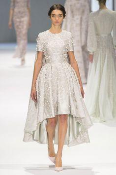 Défilé Ralph & Russo printemps-été 2015 Haute couture | Le Figaro Madame