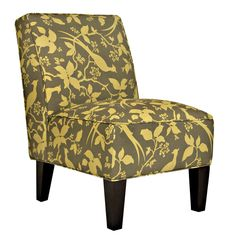 Portfolio Madigan Green Bird Branch Armless Chair - Overstock™ Shopping - Great Deals on PORTFOLIO Living Room Chairs