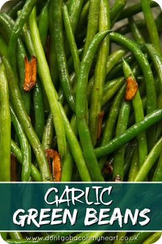 These simple green beans are sautéed in a garlic infused butter and seriously couldnt be any more delicious! The perfect side dish for just about everything. The post Garlic Green Beans appeared first on Tasty Recipes. Side Dish Recipes, Vegetable Recipes, Vegetable Ideas, Garlic Green Beans, Crispy Green Beans, Baked Green Beans, Sauteed Green Beans, Green Beans And Potatoes, Greens Recipe