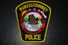 Punxsutawney Police Patch, Jefferson County, Pennsylvania