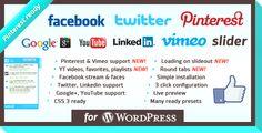 #WordPress Social Slider Plugin
