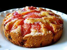 La cocina de Piescu: Tarta de ciruelas Seafood Diet, Cupcakes, Coffee Cake, Banana Bread, French Toast, Baking, Desserts, Breakfast, Face