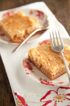 Paula Deen's- Ooey Gooey Toffee bars. Literally the best thing I've ever baked and so easy!