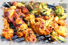 BBQ or Braaied Chicken Satay