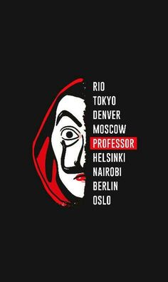 """Trending Photo of the series """"La Casa de Papel"""": The paper house - - Wallpaper For Your Phone, Wallpaper Iphone Cute, Cellphone Wallpaper, Iphone Wallpaper, Screen Wallpaper, Nairobi, Netflix Series, Series Movies, Movie Wallpapers"""