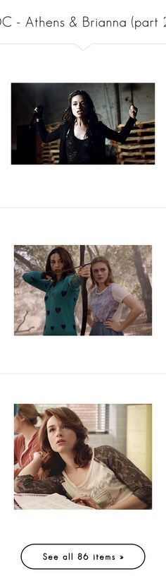 """""""DC - Athens & Brianna (part 2)"""" by free-spritt ❤ liked on Polyvore featuring crystal reed, teen wolf, people, celebrities, crystalreed, holland roden, activewear, sports bras, tops and nike"""