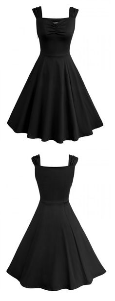 Adore this little black dress.