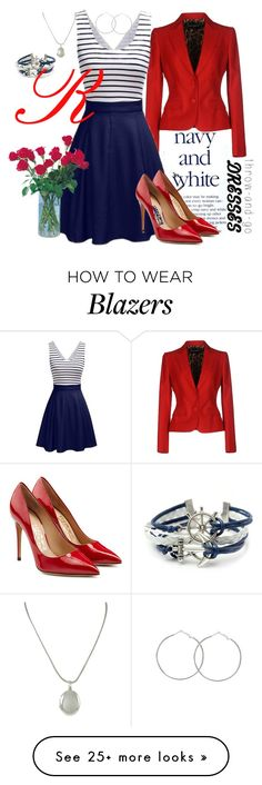 """""""Three-Colours Throw&Go Dress"""" by happychristy on Polyvore featuring Dolce&Gabbana, Salvatore Ferragamo and Tiffany & Co."""