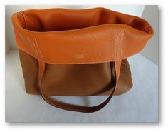 Hermes Double Sens , Orange and Gold Clemence   Hermes Bags ...