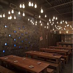 interior wood furniture restaurant kitchen design