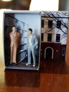 Matchbox Building: Matchbox Miniature of West by SuitcaseDollhouse