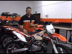 Mark Roach of KTM South Africa, gives a brief breakdown of updates to the 2014 KTM 300 XC-W Ktm 300, South Africa, Youtube, Youtubers, Youtube Movies