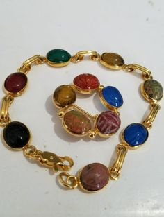 Mixed Vintage Style Costume Jewelry Lot 4 Pc Bracelets Chandelier ...