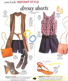 In Style Magazine, Tila March