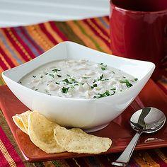 Creamy White Chicken Chili | realmomkitchen.com Sponsored by Daisy Sour Cream #ad #DollopOfDaisy
