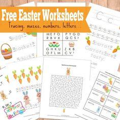 Free Easter Workshee