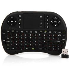 UKB-500-RF 2.4GHz Mini Wireless Keyboard Mouse Combo Support Vedio Conference System