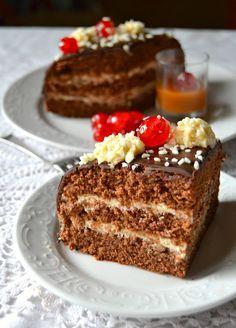 Dolci a go go: Torta al cioccolato con mascarpone e caramello mou per il mio compleanno!