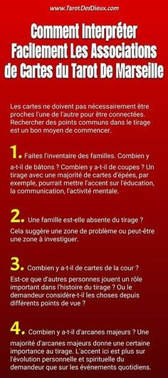 Interpréter une Association de Cartes de Tarot de Marseille avec 10  Techniques de Pro 25a2dc06b071