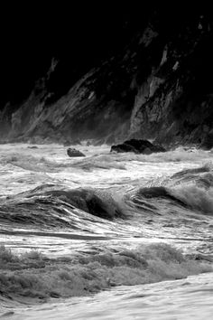 #mare #sea #biancoenero #blackandwhite