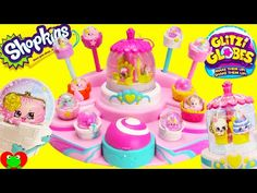 Shopkins Glitzi Globe Pretty Fashion Parade Toy Genie - YouTube
