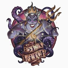 Diamond Painting Ursula The Sea Witch Kit - Wix Website Ideas - DIY your own website with Wix. - Diamond Painting Ursula The Sea Witch Kit Disney Magic, Dark Disney, Disney Love, Disney Art, Disney Villains Art, Disney Villian, Ursula Disney, Disney Pin Up, Mermaid Disney