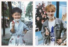 NCT Recreates Childhood Photos For Children's Day Winwin, Taeyong, Nct 127, Grupo Nct, Memes, Childhood Photos, Fandom, Mark Nct, Child Day