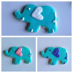 baby shower cookies XOXO Sweets Dallas, TX