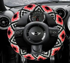 Steering wheel cover bow wheel car accessories lilly heated for girls interior aztec monogram tribal camo cheetah sterling BUY 2 GET 1 FREE Car Interior Decor, Ford Interior, Car Steering Wheel Cover, Steering Wheels, Preppy Car Accessories, Girly Car, Car Essentials, Continental, Car Hacks
