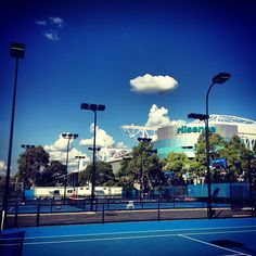 Rod Laver Arena, Home of Australian open Rod Laver Arena, Sport Tennis, Australian Open, Sunny Days, Mansions, House Styles, Sports, Instagram Posts, Australia