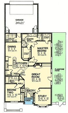 Petite French Cottage - 48033FM | 1st Floor Master Suite, Cottage, Den-Office-Library-Study, European, French Country, Narrow Lot, PDF, Split Bedrooms | Architectural Designs Pretty on outside, nice layout not too big 1759 sq ft.  Like it!