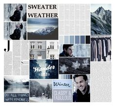 """Sweater Weather"" by birdofparadise25 ❤ liked on Polyvore featuring art"