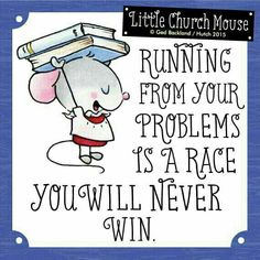 Church mouse say....