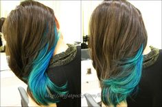 Blue underneath.  Solid possibility.