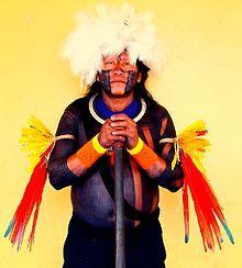 Arte plumária dos índios brasileiros – Wikipédia, a enciclopédia livre
