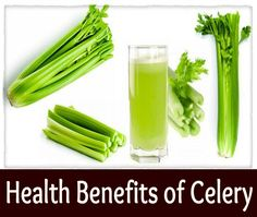 Medi Craze: Health Benefits of Celery