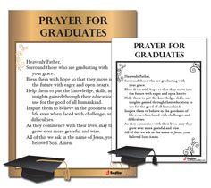 A Prayer for Graduates      #prayer #Catholic #Catholics