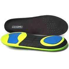 Athletic Series Sport Insoles With Arch Support For Running, Cross Training, Walking- Shock absorption & Reduce Fatigue-Shoe Insoles Orthotic For Flat feet &Plantar Fasciitis by Stepcomfy #Athletic #Series #Sport #Insoles #With #Arch #Support #Running, #Cross #Training, #Walking #Shock #absorption #Reduce #Fatigue #Shoe #Orthotic #Flat #feet #&Plantar #Fasciitis #Stepcomfy