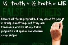 These false prophets act as vacuum cleaners sucking in the weak, taking advantage of those who are not grounded in the faith. Description from darrellcreswell.wordpress.com. I searched for this on bing.com/images
