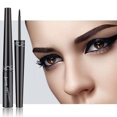 Only $2.99 , eyeliner pencil waterproof black liner liquid pen eye 1PC makeup cat long-lasting cosmetic comestics kajal line pro watercolor
