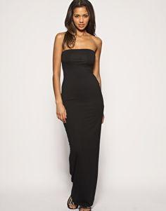 ASOS Boob Tube Maxi Dress