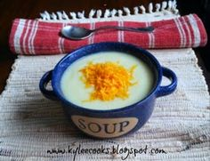 "Another day, another soup? Seriously, I've lost my blogging mojo a bit lately in favor of survival mode. The other night, I ""threw frozen things in the oven, and called it dinner""…"