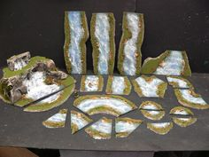 PayPal Only Pls  COMMISSION Pro Build River & Waterfall Commission WARGAMES TERRAIN for Warhammer fantasy 40k Malifaux LotR
