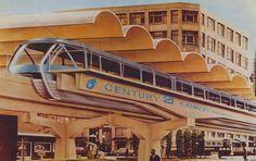 monorail, Seattle, 1962