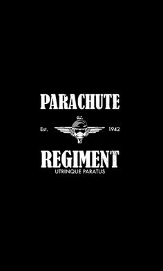 Parachute Regiment, British Army, Military, Movie Posters, Film Poster, Billboard, Film Posters, Military Man, Army